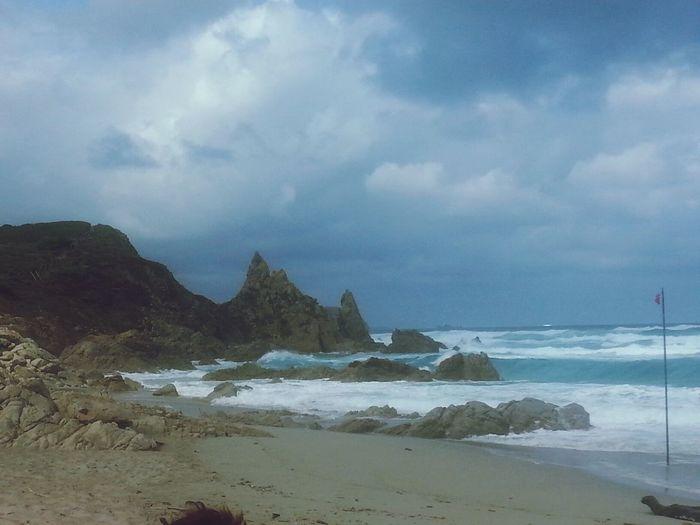 Questa mattina tempo da lupi Sea