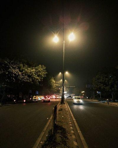 Instagram Instapic Wintertime Delhi DelhiGram Nightphotography Streetphotography Nexus6pphotography Nexus6P Peacefullnight