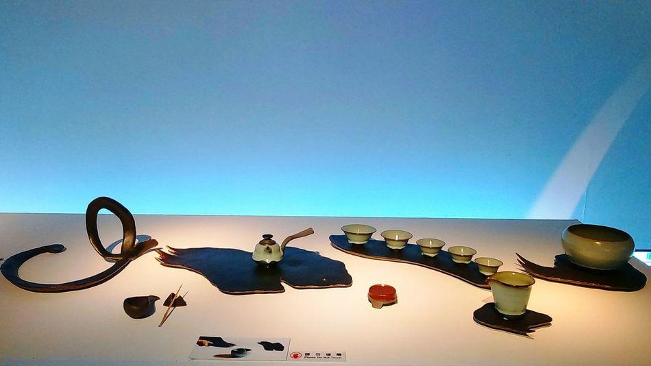"The Taiwan Ceramic Awards 2017 artist CHEN,CHIH-CHIANG ""Running Script in Ink"" Yingge Ceramic Museum Creative Design Awards2017 Ceramic Art Ceramic Dishes Ceramics Museum Of Modern Art Artistic Museum Of Art ArtWork Modern Art Modern Architecture Art Gallery Art Taiwan Museum Architecture Indoors"