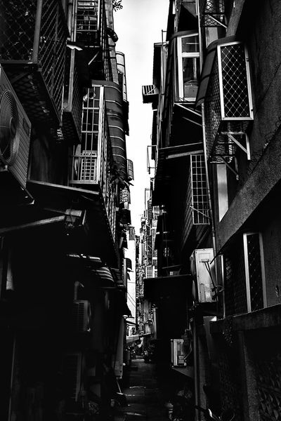 Art Asian Culture Backstreets & Alleyways Blackandwhite Building Streetphotography Taipei Taiwan