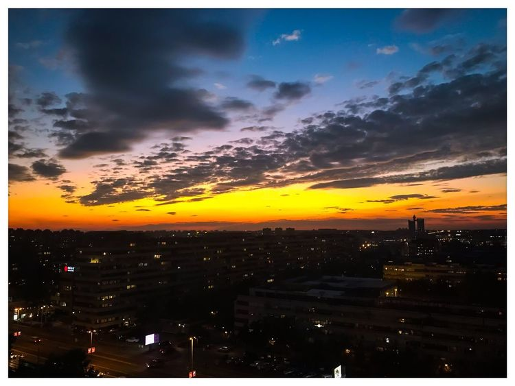 Auto Post Production Filter Sunset Sky Dramatic Sky No People Cloud - Sky Tranquility Outdoors Scenics Building Exterior Nature City Travel Destinations Beauty In Nature Architecture Cityscape Built Structure Growth Skyscraper Landscape Belgrade,Serbia Hyatt Hotel Hyattregency