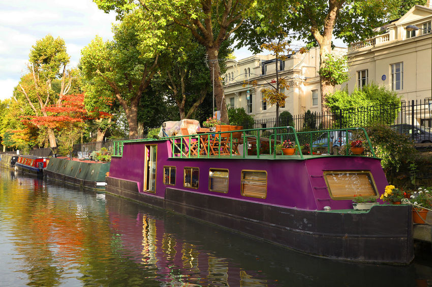 Architecture Architecture_collection Channel London Riverside Travel Travel Photography Water Channel Barges Barges London Day Europe Landmark Little Venice London Nature Outdoors River Travel Destinations Travelphotography Tree Uk