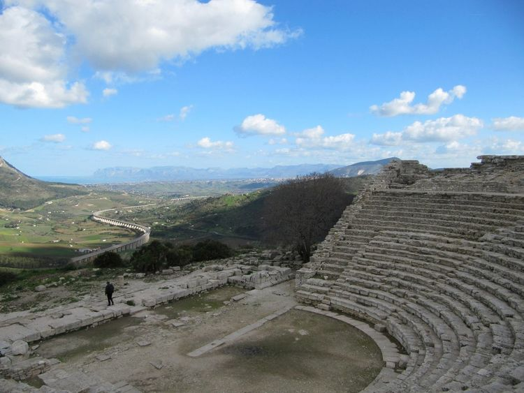 The Architect - 2014 EyeEm Awards Sicilia Ancient Theatre and High Way