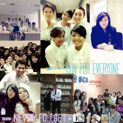 I just once had been a woman. A carrier woman. Once. I posted these pictures because I'm too miss them and the memories that we've made.. How are you guys?? Throwback Latepost Miss BCA learning centre Indonesia friendsforlife
