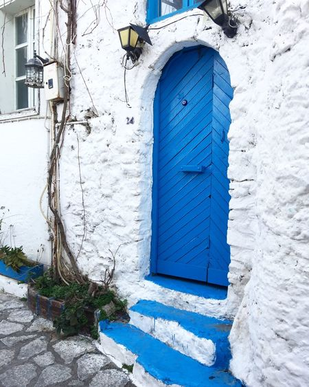 Greek style blue door entrance in Marmaris, Turkey Architecture Architecture Authentic Beautiful Blog Blue Entrance Greek Style Holiday Marmaris Narrow Street Nature Old Style Old Town Outdoors Spring Tourism Tourism Destination Tourist Tourist Attraction  Travel Travel Blog Travel Destinations Turkey Vacation