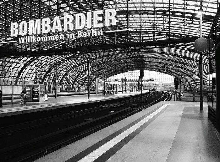 Day 292 - Hauptbahnhof Berlin Blackandwhite Public Transportation 365project 365florianmski Day292