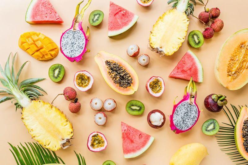 Fresh fruits,