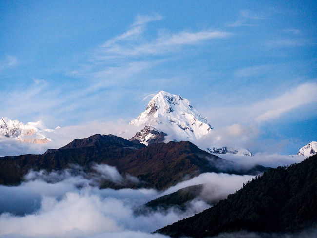 When the smoke screen fades away... Adventure Clouds Freedom Nepal Peace Tranquility Travel Trekking