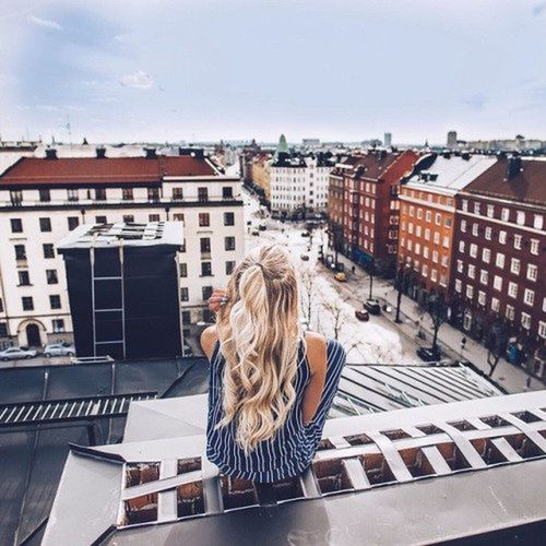 City Building Exterior Women Looking Business Finance And Industry Cityscape Adult One Person People Outdoors Balcony Architecture Young Women Adults Only Human Eye Sky Young Adult Day