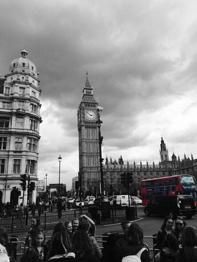 The Traveler - 2015 EyeEm Awards Big Ben Red Bus London Nice Day First Day In London Never Forgot