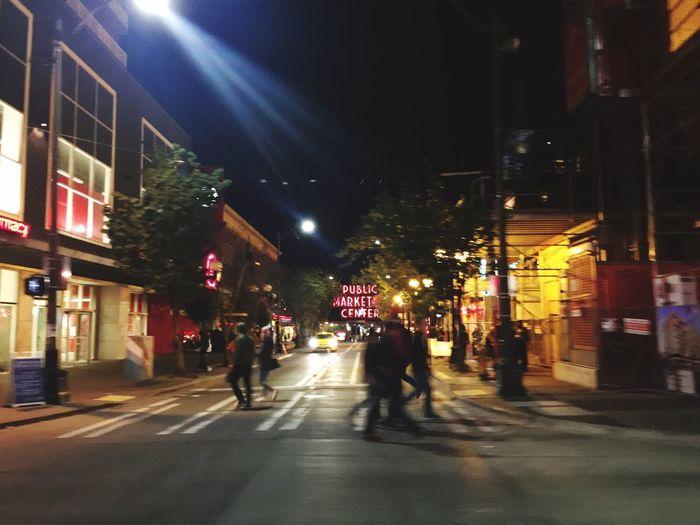 Seattle Public Market Center Nightlife