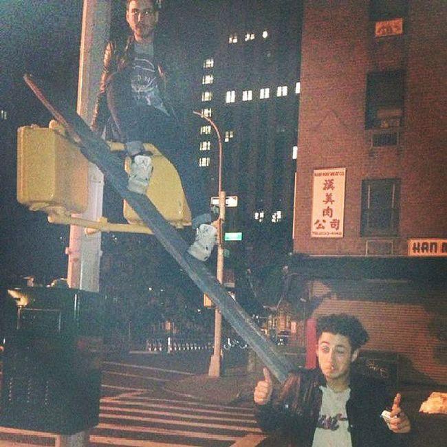 Trafficlights Lebaron Chinatown Saturdaynight