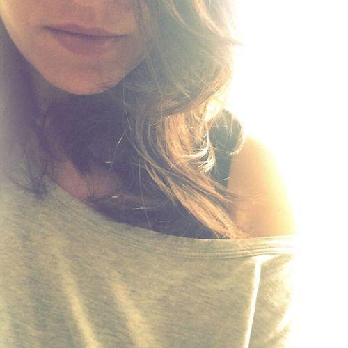 Morningselfie Itsme Sunshine HalfFace Lips Visage Berlincitygirl Lightcolor Selfie ✌ BrownHairDontCare Sun Profile