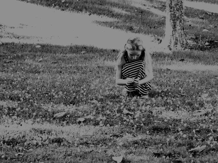 Hanging Out Enjoying Life Frolicking Picking Flowers
