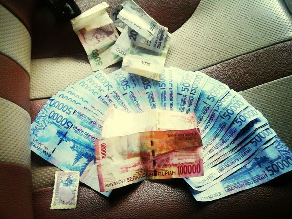 INDONESIA Rupiah after today 2.000.000 withdrawal :-)