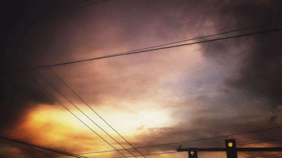 Intersection. EyeEm Best Shots - Sunsets + Sunrise Sun_collection, Sky_collection, Cloudporn, Skyporn Sunset #sun #clouds #skylovers #sky #nature #beautifulinnature #naturalbeauty #photography #landscape