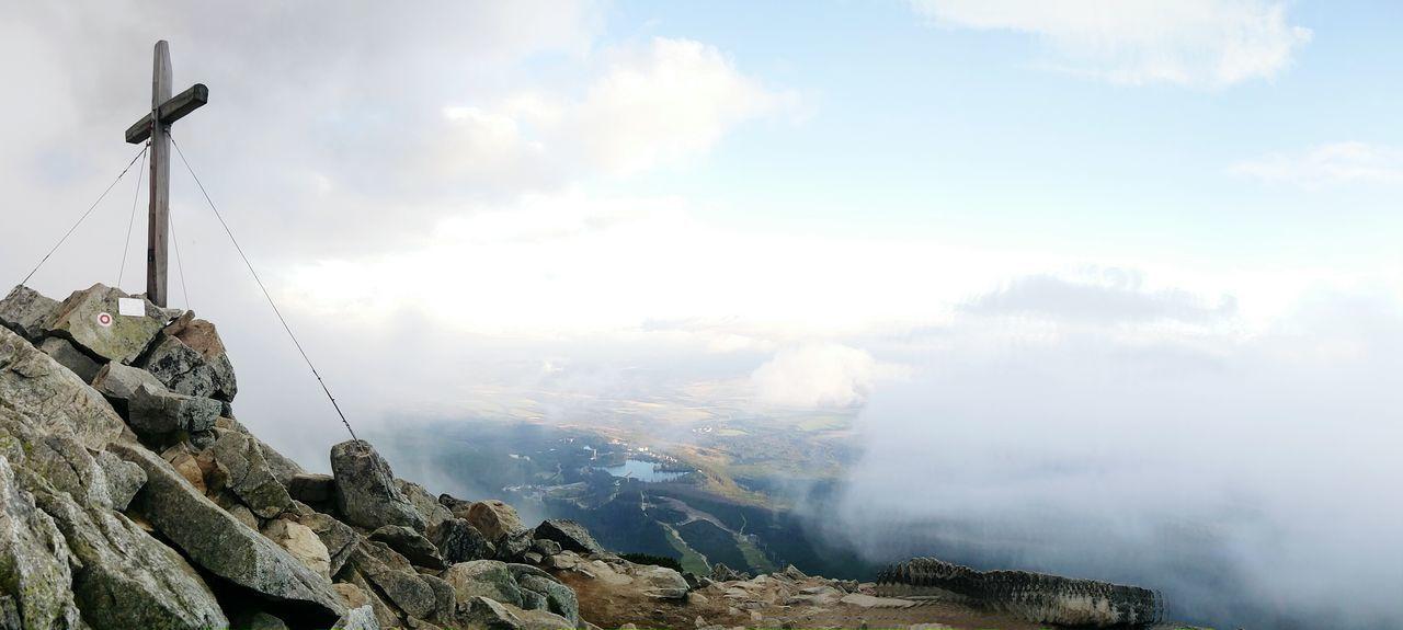 Tatra Mountains Predne Solisko Strbske Pleso Clouds And Sky High Tatras Mount Peak Miles Away