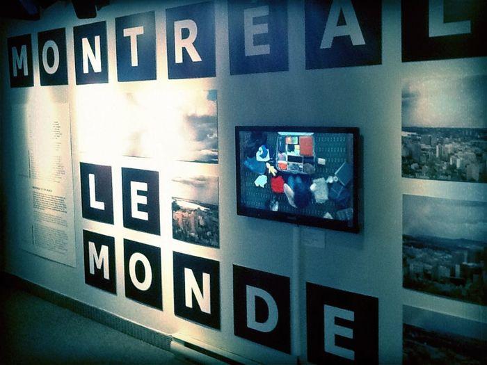 Musée. at centre d'histoire de montreal Musée.