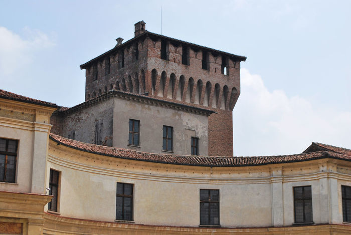 S. George's castle - Mantova, Lombardy, Italy. Castle City Italia Lombardy Mantova Mantua Travel Architecture Building Exterior Built Structure Castello Europe Gonzaga History Italy Lombardia Low Angle View Old Outdoors Tourism Urban