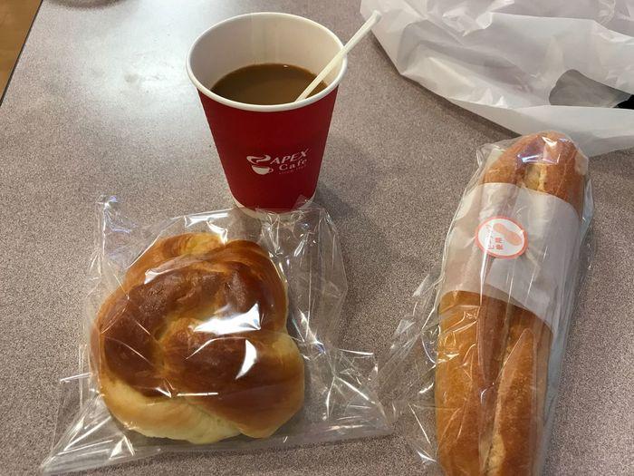 パンとブレンドコーヒー