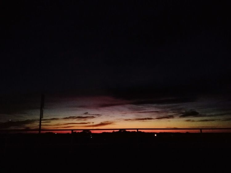 Black Velvet    Beauty In Nature OklahomaSkies Oklahoma Sunsets Orange Sky Red Gold Clouds And Sky Astronomy Sunset Silhouette Dramatic Sky Sky Landscape Cloud - Sky