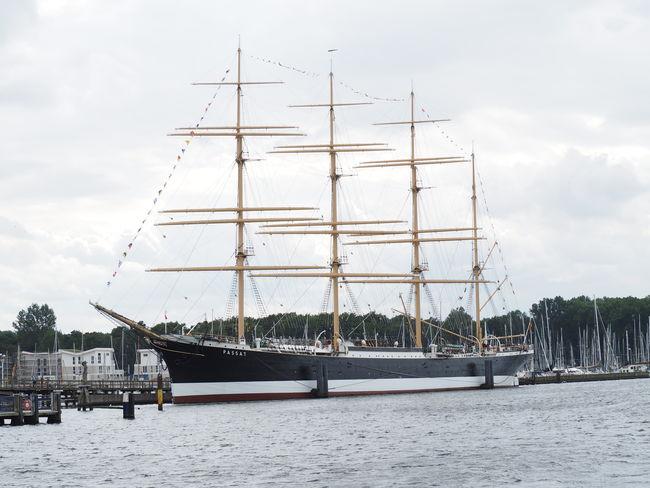 Passat, Travemünde, Germany Ships⚓️⛵️🚢 Sailing Ship Sailboat Masts Sailer