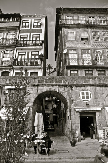 Arch Architecture Architecture Blackandwhite Porto Portugal Travel Destinations