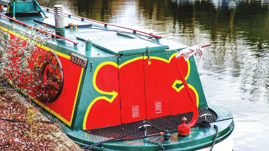 Barge on the