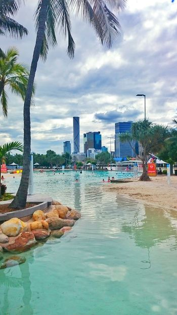 South Bank. Brisbane Southbank Australia Australien Pool Hanging Out Travelling Travel