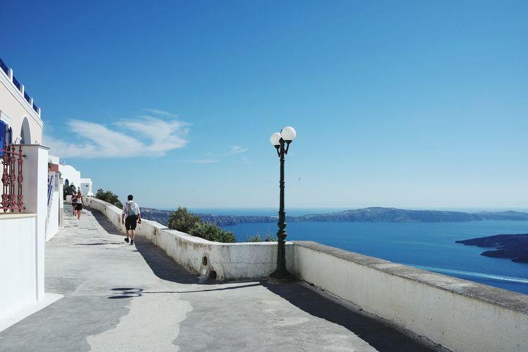 Street Lamp Monday in Santorini Landscape_Collection Taking Photos Enjoying Life Eye4photography