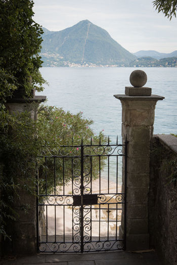 Gate Renaissance Beach Beauty In Nature Day Garden Lake Landscape Luxury Mountain Nature No People Outdoors Scenics Sea Sky Summer Water