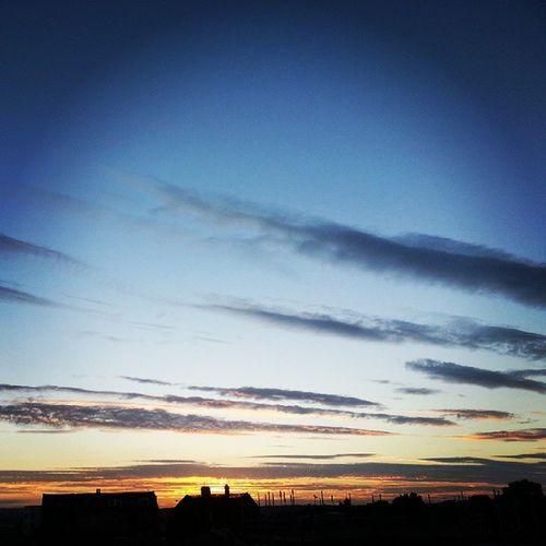 Amazing Sunset over Bradford today. Alhamdullilah . Photography by me @ NurPhotography.