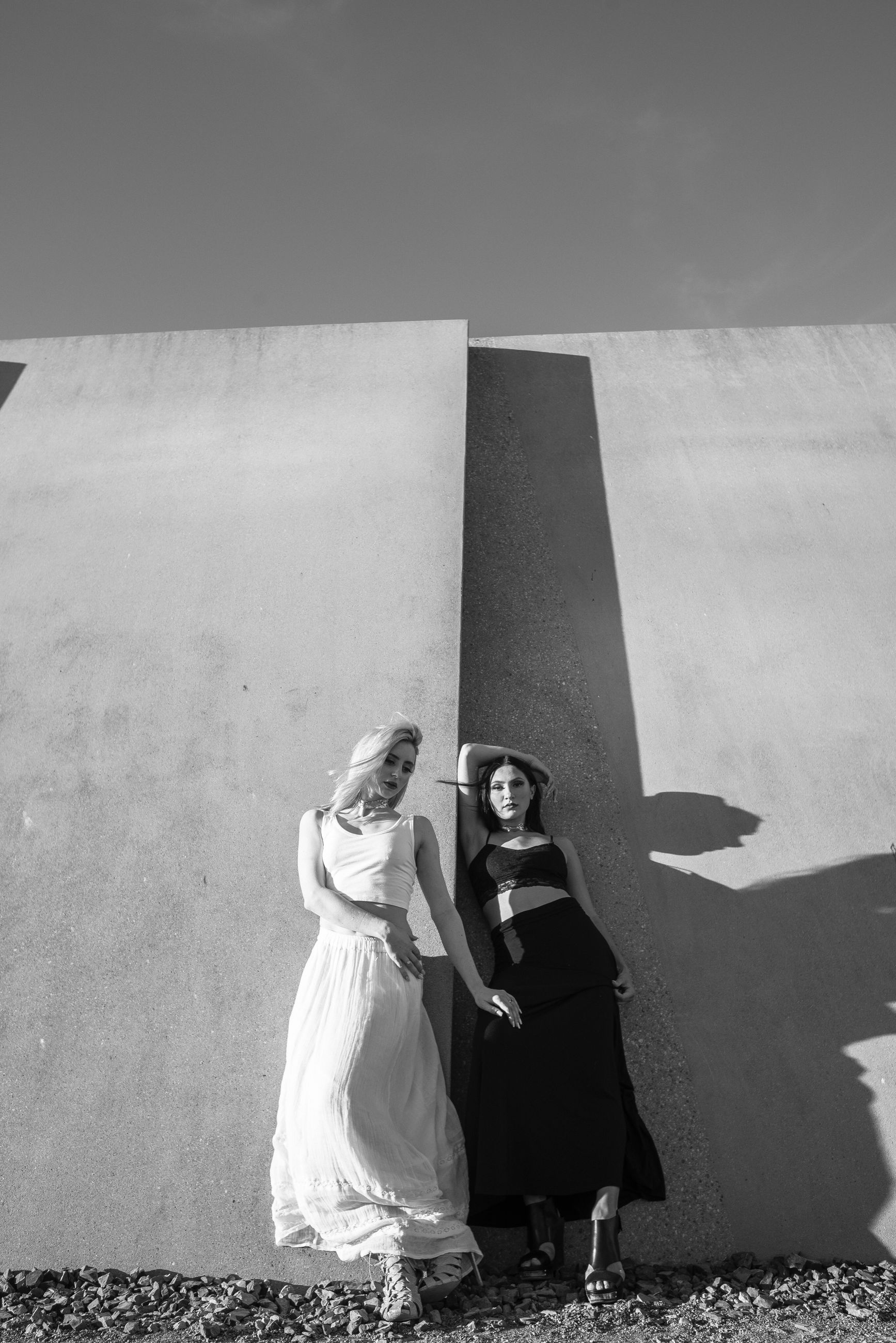 young women, full length, young adult, real people, women, outdoors, day, lifestyles, standing, bride, wedding dress, nature, sky, people
