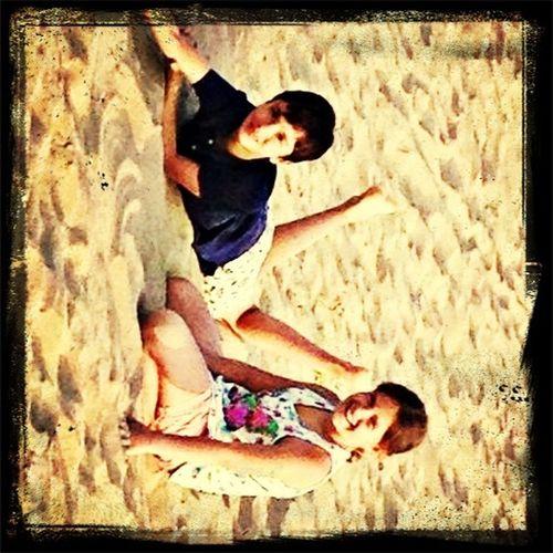 In the beach ?