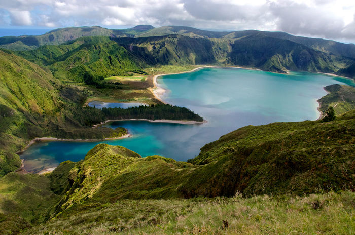 Arcipelago Delle Azzorre Azores Azzorre Açores Açores - Portugal Clouds Green Isla Island Isola Lago Lagoa Lagoa Do Fogo Lake Landscape Nature Nature Photography Nature_collection Nature_perfection Panorama Portugal Sao Miguel Sao Miguel- Azores São Miguel - Açores Vulcano Island First Eyeem Photo