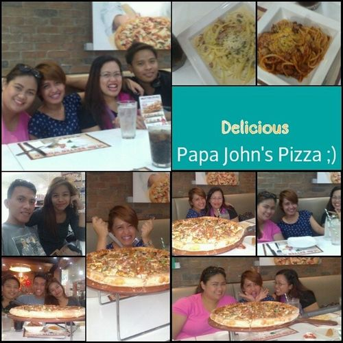 Eat out :) Teamkalibo Papajohnspizza Breakfast Happyteam