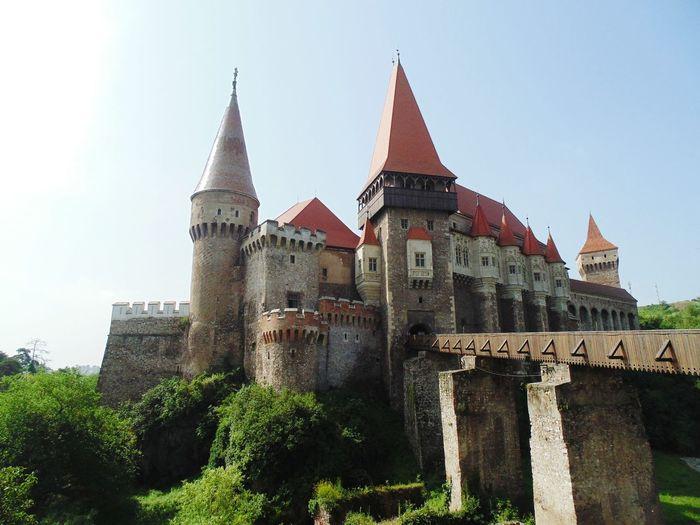 Architecture Travel Destinations Low Angle View History Building Exterior Castle Vajdahunyad Vár Hunedoara
