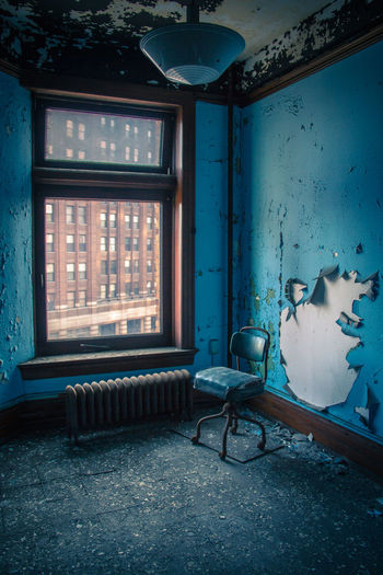 Interior Of Abandoned Room At Home