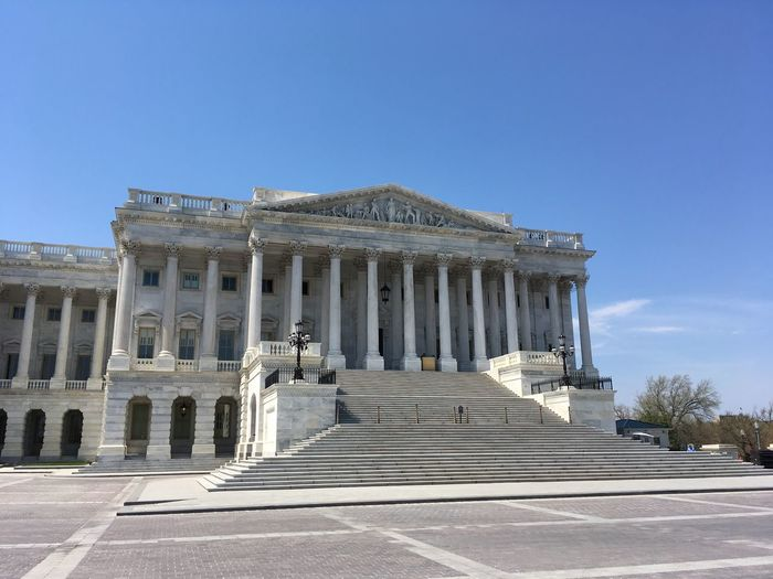 US Capitol (04/2018) Washington, D. C. US Capitol Building Sky Architecture Built Structure Architectural Column Building Exterior History The Past