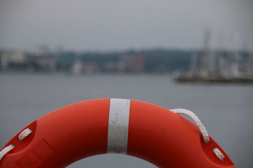 Lifebelt Lifebelt Sea Red Rescue Water Sea Outdoors No People Day Close-up Your Ticket To Europe