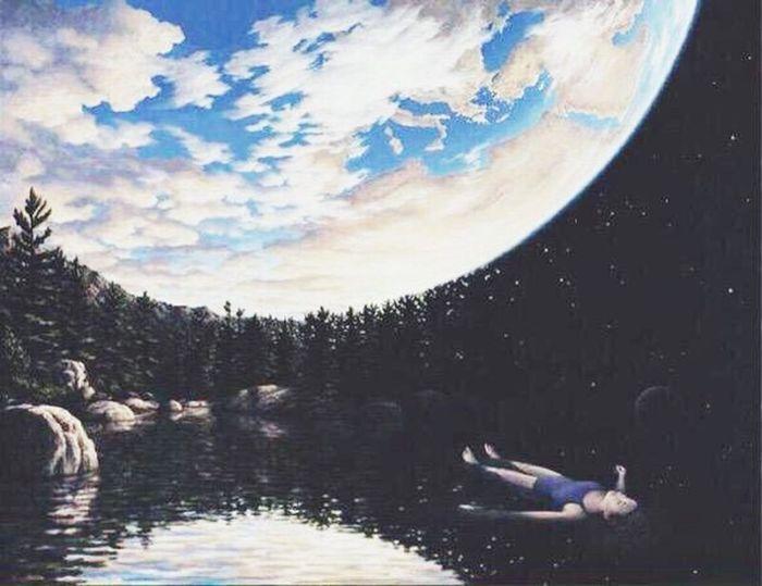 «Lorsque nous rêvons,nous entrons dans un monde qui n'appartient qu'à nous.» Rêve
