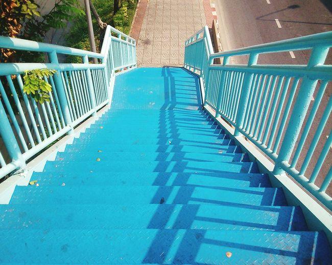 Blue Stairways