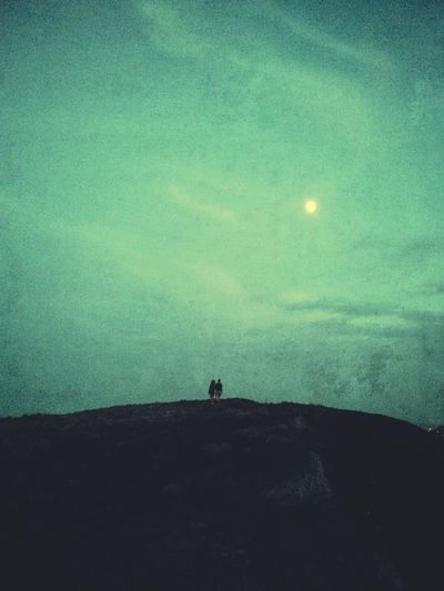 Lovers under the moonlight. Eye4photography  Snapseed EyeEm Best Shots