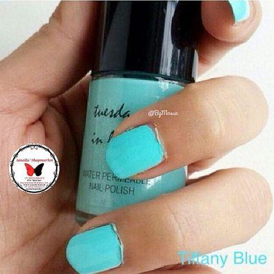☆TUESDAY IN LOVE ☆ Nailpolish    15 ml … Finally, a nail polish for muslim women, Tuesday in Love is a Canadian company specializing in water permeable nail polishes … … KODE: 1 ⇨ TIFFANY BLUE … ⇨HALAL ⇨Bisa dibawa shalat ⇨Aman Dipakai utk Cewek muslim dan Anak2 ⇨Original 100% ⇨Mudah Dibersihkan ⇨Mudah Dikelupas, Bisa tanpa menggunakan Aseton ⇨Air dapat Menyerap ke Kuku ⇨Tidak Merusak Kuku … Minat? ⇨Line: ollabutterfly ⇨BBM: 7d317d9c ⇨Transfer only BCA and MANDIRI ⇨Serious Buyer Only Happy Shopping I`Shop ~ ❤ … Kuteks Nailpolish Inglot Inglotnailpolish kuteksinglot halal kutekshalal halalnailpolish muslim inglotmurah kuteksmurah opi rubi pokari kuteksoriginal originalnailpolish zoya enamel ollamossabil ianollashopmarket goshmurah Palangkaraya banjarmasin nailart nyx balikpapan etude oriflame hijab tuesdayinlove
