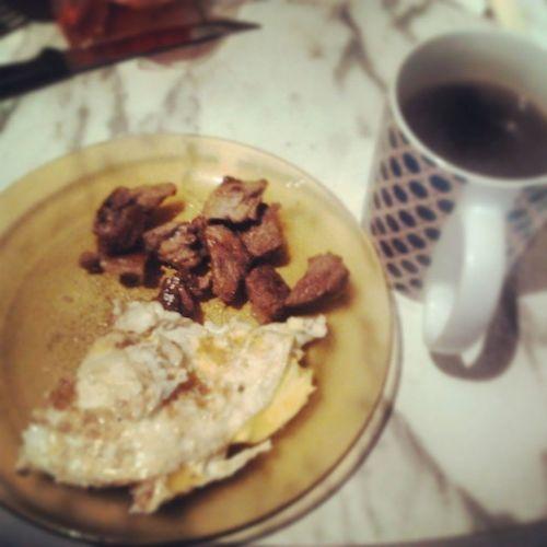 Bom dia aos que tao indo e boa noite aos que tao voltando! Larica Breakfast IAmCocker Sun china ovo NASKI