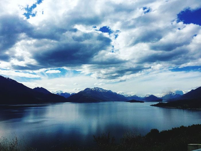 Queenstown lake Mountain Sky Nature Beauty In Nature Reflection Landscape Water Lake Scenics No People Outdoors Scenery Day