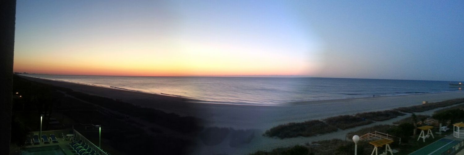 Beach Sunrise Panoramic