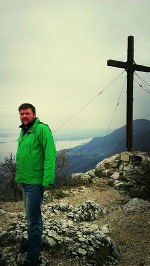 Scheiß Wetter, Aber Monte Castello Gipfel