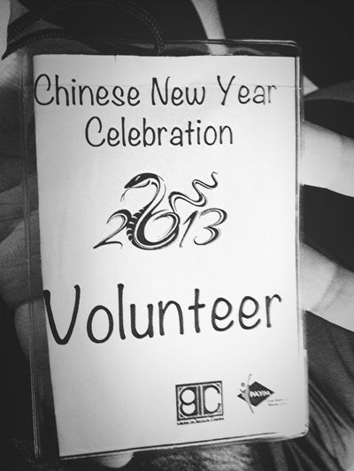 On 2nd was the setting up and preparation. 3rd was the actual event! :) Singapore Volunteering Chinese New Year Catchherfart