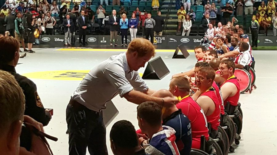 The Magic Mission That moment when Prince Harry awards you a silver medal! WeAreInvictus InvictusOrlando Sports Orlando invictusgames Men Athletes Capture The Moment